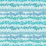 Modello senza cuciture del ghiaccio di struttura astratta di chrystals Immagini Stock Libere da Diritti