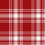Modello senza cuciture del kilt del tartan di Menzies della gonna di struttura rossa del tessuto Fotografia Stock Libera da Diritti