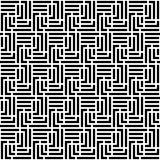 Modello senza cuciture del labirinto monocromatico royalty illustrazione gratis