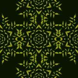 Modello senza cuciture del mosaico astratto verde Fotografia Stock