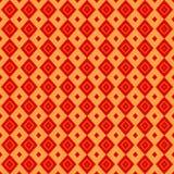 Modello senza cuciture del panno di colore rosso Fotografia Stock Libera da Diritti
