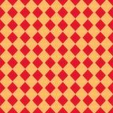 Modello senza cuciture del panno di colore rosso Fotografie Stock