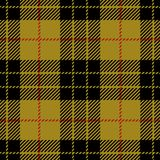 Modello senza cuciture del plaid di tartan di MacLeod del clan Fotografia Stock