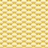 Modello senza cuciture del rombo dorato Fotografia Stock