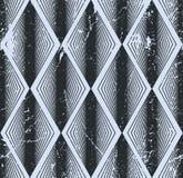 Modello senza cuciture del rombo, fondo geometrico astratto della piastrellatura, Fotografia Stock Libera da Diritti