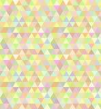 Modello senza cuciture del triangolo Immagine Stock Libera da Diritti