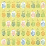 Modello senza cuciture dell'ananas Immagine Stock Libera da Diritti