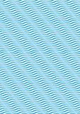 Modello senza cuciture dell'ondulazione Immagine Stock
