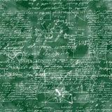 Modello senza cuciture dell'operazione matematica e del equatio Immagini Stock