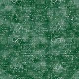 Modello senza cuciture dell'operazione matematica e dell'equazione Immagine Stock Libera da Diritti