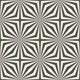 Modello senza cuciture della banda e del quadrato Sedere astratte di illusione ottica Fotografie Stock Libere da Diritti