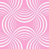 Modello senza cuciture della geometria decorata con i petali illustrazione vettoriale