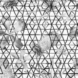 Modello senza cuciture della geometria esotica Fotografia Stock