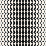 Modello senza cuciture della maglia di semitono Progettazione di modo dei pantaloni a vita bassa illustrazione vettoriale
