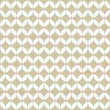 Modello senza cuciture della maglia dorata di vettore Oro semplice e struttura geometrica bianca illustrazione di stock