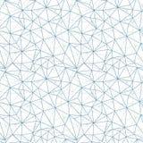 Modello senza cuciture della rete di web di vettore grigio di struttura illustrazione vettoriale