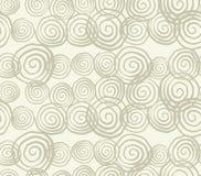 Modello senza cuciture della tintura del legame di vettore Stampa disegnata a mano di shibori Fotografia Stock