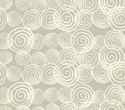 Modello senza cuciture della tintura del legame di vettore Stampa disegnata a mano di shibori Fotografie Stock