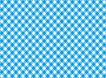 Modello senza cuciture della tovaglia blu diagonale Immagine Stock