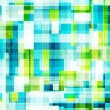 Modello senza cuciture delle cellule luminose con effetto di lerciume Fotografia Stock Libera da Diritti