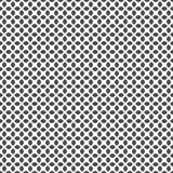 Modello senza cuciture delle forme rotonde Carta da parati geometrica Fotografia Stock Libera da Diritti