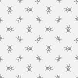 Modello senza cuciture delle formiche Fotografie Stock Libere da Diritti