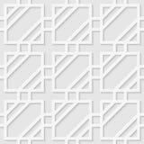 Modello senza cuciture delle linee Fondo quadrato Immagini Stock Libere da Diritti