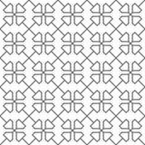 Modello senza cuciture delle linee Grata insolita Carta da parati geometrica Immagini Stock
