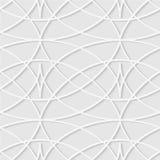 Modello senza cuciture delle linee ondulate Carta da parati a strisce geometrica Unu Fotografie Stock Libere da Diritti