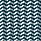 Modello senza cuciture delle onde stilizzate del mare Priorità bassa geometrica Struttura volumetrica Fotografia Stock Libera da Diritti