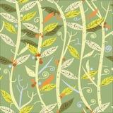 Modello senza cuciture delle piante illustrazione vettoriale