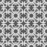 Modello senza cuciture delle rosette quadrate Immagine Stock