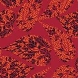 Modello senza cuciture di Abstact Textu ornamentlal floreale delle foglie Fotografia Stock Libera da Diritti