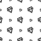 Modello senza cuciture di arte del pixel di stile del diamante di modo del fondo illustrazione vettoriale
