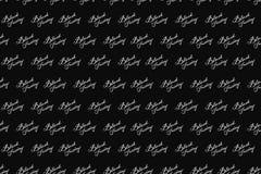 Modello senza cuciture di Black Friday Priorità bassa in bianco e nero iscrizione Vettore Fotografia Stock Libera da Diritti