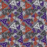 Modello senza cuciture di caos triangolare royalty illustrazione gratis