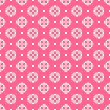 Modello senza cuciture di estate leggera Rosa affettuoso, bianco Fotografia Stock