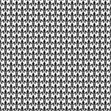 Modello senza cuciture di giglio dorato Illustrazione di vettore Modello bianco nero Struttura floreale Decorazione elegante, gig Fotografia Stock Libera da Diritti
