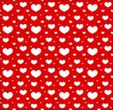 Modello senza cuciture di giorno di biglietti di S Amore, fondo senza fine romanzesco, struttura Illustrazione di vettore illustrazione vettoriale