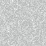 Modello senza cuciture di Henna Mehndi Tattoo Flowers Doodles Immagine Stock