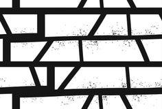 Modello senza cuciture di motivo geometrico strutturato disegnato a mano astratto isolato su fondo bianco Immagini Stock