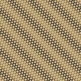 Modello senza cuciture di semitono di vettore Il nero e struttura dell'oro con la pendenza diagonale illustrazione di stock