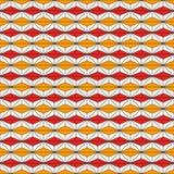 Modello senza cuciture di stile africano con le figure astratte Stampa etnica e tribale Priorità bassa ornamentale geometrica royalty illustrazione gratis