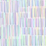 Modello senza cuciture di struttura astratta Bande colorate casuali Immagini Stock Libere da Diritti