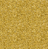 Modello senza cuciture di struttura dorata di scintillio nello stile dell'oro Disegno di vettore Immagine Stock