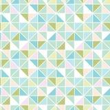 Modello senza cuciture di struttura pastello variopinta del triangolo illustrazione di stock