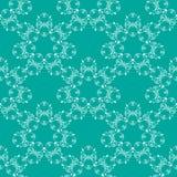 Modello senza cuciture di verde blu illustrazione vettoriale