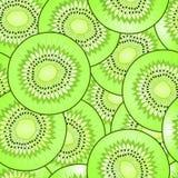 Modello senza cuciture di vettore del kiwi illustrazione di stock