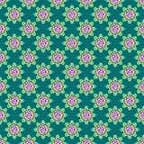 Modello senza cuciture di vettore delle rose illustrazione vettoriale