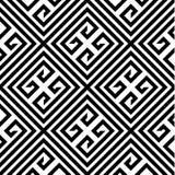 Modello senza cuciture di vettore di zigzag Fotografia Stock Libera da Diritti